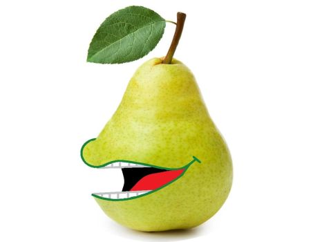 Pear by Iwatchcartoons715