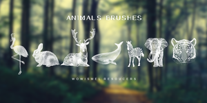 Animals Brushes by WowisMel