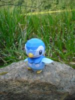 Piplup papercraft by TimBauer92