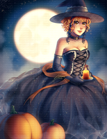 Candlelit Magic ~ Happy Halloween! by DesignsBySloan