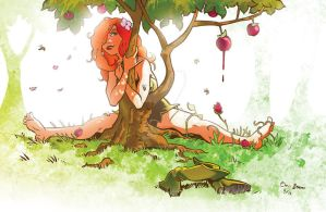 Poison Ivy Gets Some Sun by chrisbeaver
