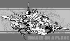 Snakes on a Plane by scumbugg