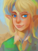 Link Portrait by Zeighous