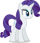 Mlp Fim Rarity (smile) vector by luckreza8