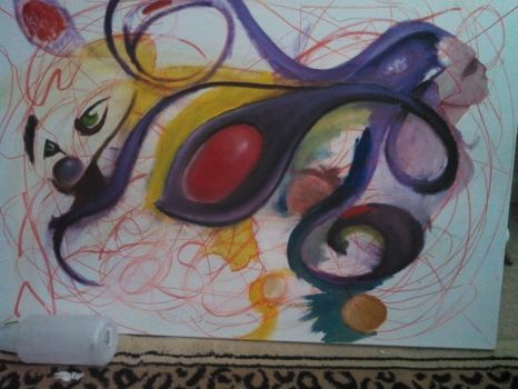 W.I.P painting by 15t