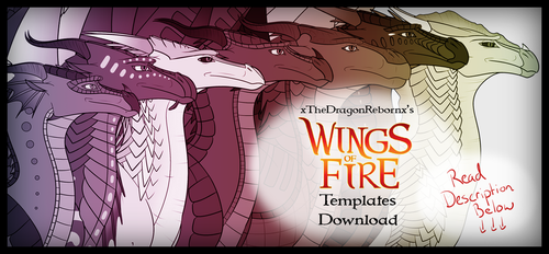 Wings of Fire Pyrrhia Tribes Templates Download by xTheDragonRebornx
