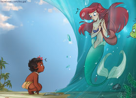 Moana: Encounters by fra-gai