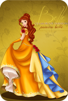 Glamorous Fashion - Belle by tiffanymarsou