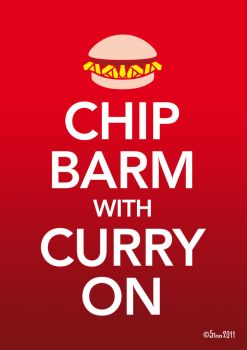 Chip Barm With Curry On by StooBainbridge