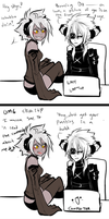 Of loling and giggles by AishaxNekox