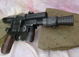 Han Solo DL-44 Blaster The Force Awakens Version by Livinlern
