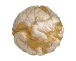 Baked round bread on a transparent background by PRUSSIAART
