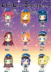Live Live Sunshine: Happy Party Train Charms by KoMelsu