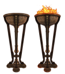 UNRESTRICTED - Flaming Brazier PNG by frozenstocks
