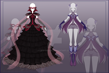 [Close]  Adoptable Outfit Auction 16-17 by LifStrange