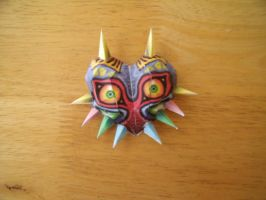 Papercraft Majora's Mask by Drawingdude1098