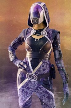 Tali cosplay by Nebulaluben