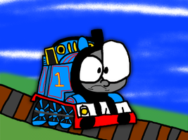 IT'S THOMAS THE F*CKING TANK ENGINE by Waltman13