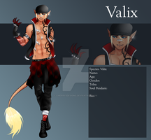 (closed) Auction Adopt - Male Valix 6 by CherrysDesigns