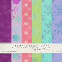 Sherbet Smoothie by Rene Blooms by SunnyFunLane