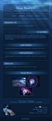 Deep Blue Journal Skin by Thewinator