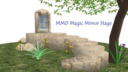 MMD Magic Mirror Stage ~Converted with SketchUp~ by xXFrenchToastXx