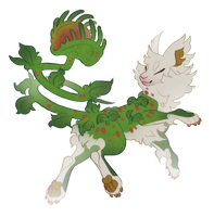 plant butt deer lion idk (open) by Shegoran