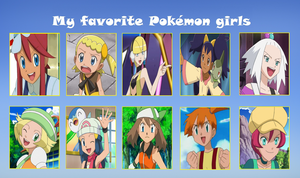 My favorite pokemon girls meme