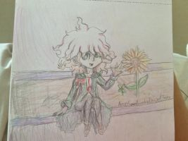 I have too many Komaeda drawings in my gallery by Maechi-Toff