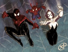 Spider-verse by photon-nmo