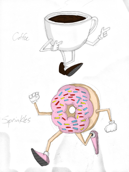 Coffee and Sprinkles by Cassiusthedemon