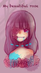 My beautiful rose (OC) ///Pastel Gore/// by Ione7Marie7