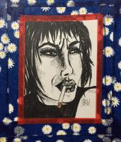 Smoking Girl #2  by 8Annett8