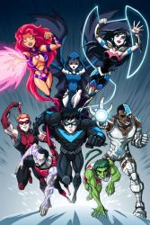 New Titans - Before New 52 by LucianoVecchio