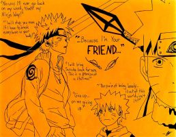 ...Because I'm Your Friend... ~Naruto Tribute by Kisameshark14