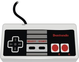 NES Controller by doncroswhite