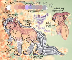 Lilium, the Hyena Sona by MonsterMeds