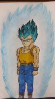 J.C. (The First OC) Super Saiyan God Super Saiyan by MosakeJarakio