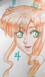 Sailor Jupiter by silent-mooby