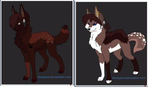 Wolf Adopts by KitkatRevolution