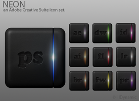 Neon -Adobe CS Suite icons- by adamspruijt