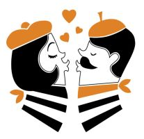 French Kiss by Coolgraphic