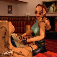 The Music of Tomb Raider: jewel case mockup by doppeL-zgz