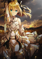 Saber Lily Fate Series (Collaboration) by galangcp