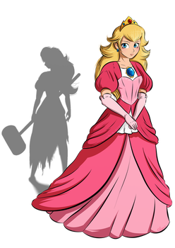 Peach May Be Stronger Than You Think by Elwensa