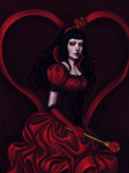 the queen of heartsss. by acid-tongued
