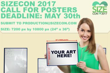 Sizecon Call for Posters by SizeCon