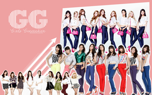 Girls Generation Wallpaper by edinaholmes