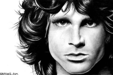 Jim Morrison by Doctor-Pencil