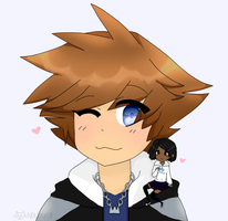 Sora and Tyler Gift by NeonCandyLights